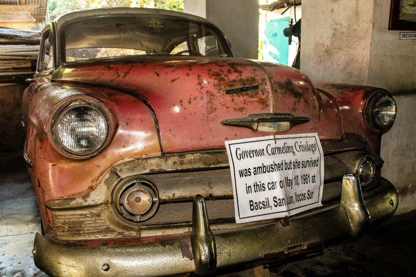 Decades old chevrolet at the Crisologo Museum